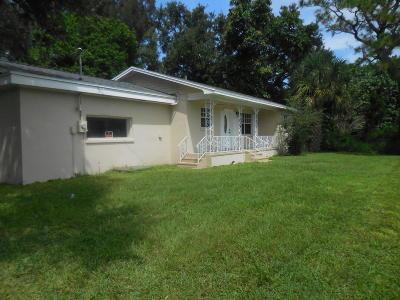 Vero Beach Single Family Home For Sale: 2520 20th Street