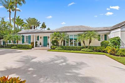 Palm Beach FL Single Family Home For Sale: $4,590,000
