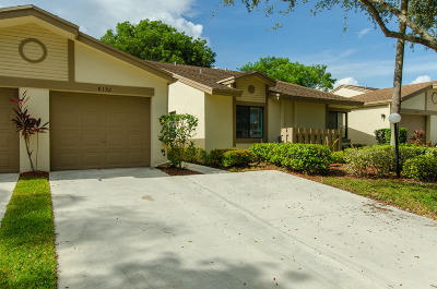 Boca Raton Single Family Home Contingent: 8192 Whispering Palm Drive