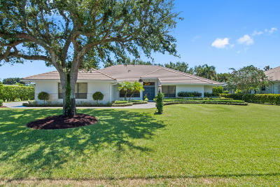Boynton Beach Single Family Home For Sale: 4376 Pine Tree Drive