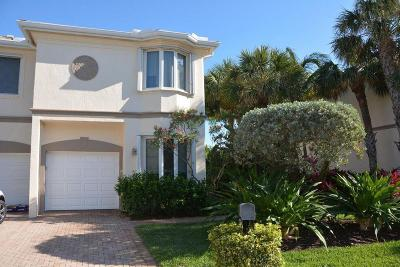 Juno Beach Townhouse For Sale: 764 Seaview Drive