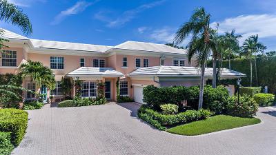 Palm Beach Townhouse For Sale: 421 Brazilian Avenue