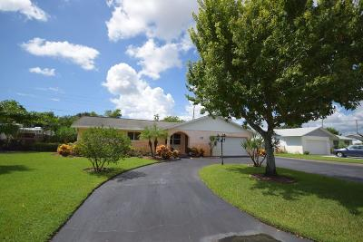 Delray Beach Single Family Home For Sale: 4656 Franwood Drive