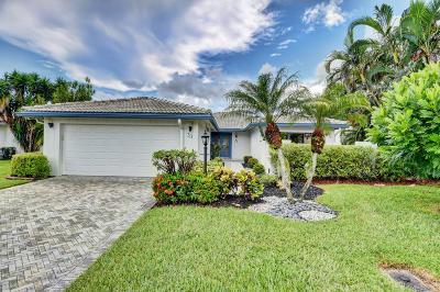 Boynton Beach Single Family Home For Sale: 33 Woods Lane
