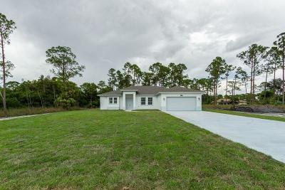Loxahatchee Single Family Home For Sale: 13171 Orange Boulevard