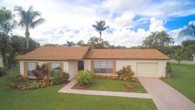Royal Palm Beach Single Family Home For Sale