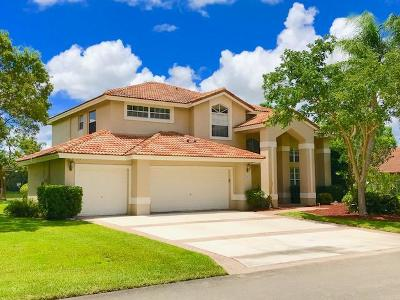 Davie Single Family Home Contingent: 14001 Carlton Drive