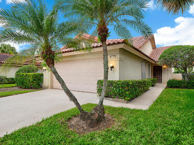 West Palm Beach Single Family Home For Sale: 2775 Hawthorne Lane