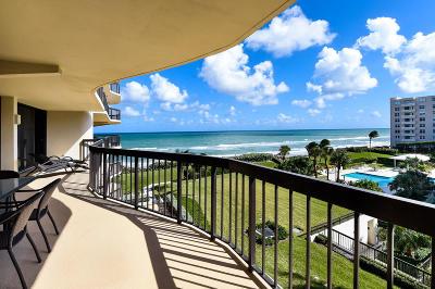 Palm Beach Condo For Sale: 3440 S Ocean Boulevard #401 N