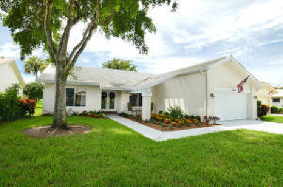Boca Raton Single Family Home For Sale: 6306 Casabella Lane Lane
