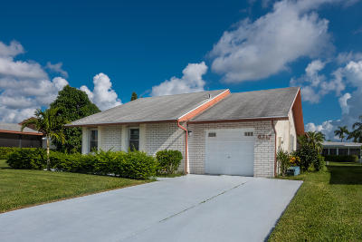 Delray Beach Single Family Home For Sale: 6217 Stanley Lane