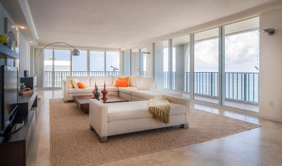 Ocean Towers, Ocean Towers Condominium, Ocean Towers South Condo Apts Condo For Sale: 2800 S Ocean Boulevard #23g