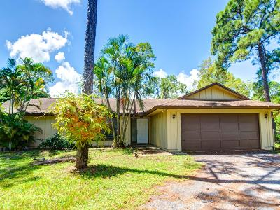 Loxahatchee Single Family Home For Sale: 1711 Stallion Drive