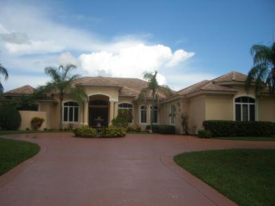 Palm Beach Gardens FL Single Family Home For Sale: $1,099,000