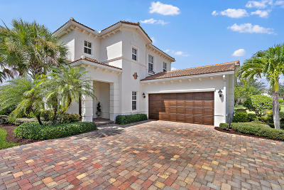 Jupiter Single Family Home Contingent: 124 Whale Cay Way