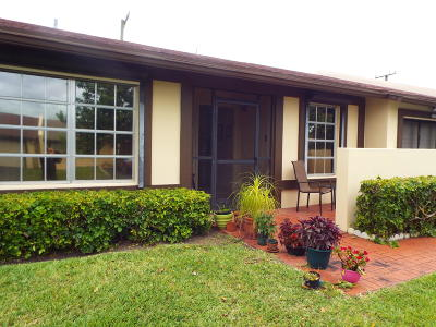 Delray Beach Single Family Home For Sale: 5239 Copperleaf Circle