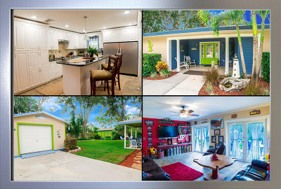 Fort Pierce Single Family Home For Sale: 5702 Palm Drive