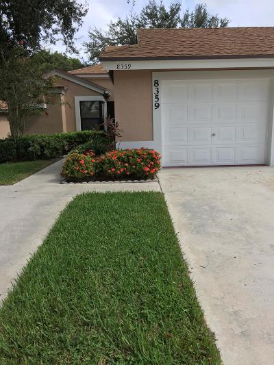Boca Raton Single Family Home For Sale: 8359 Springlake Drive #A
