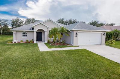 Vero Beach Single Family Home For Sale: 4635 Stephanie Lane SW