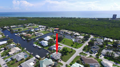 Hutchinson Island FL Single Family Home Contingent: $562,000