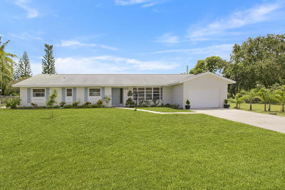 Hobe Sound Single Family Home Contingent: 9242 SE Duncan Street
