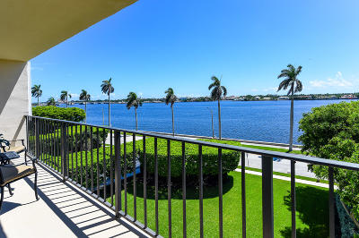 West Palm Beach Condo For Sale: 1801 S Flagler Drive #402