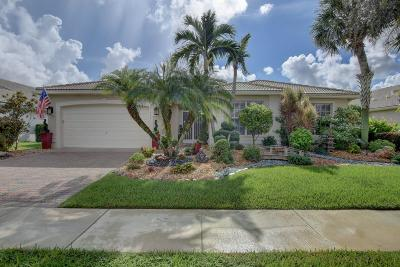 Delray Beach Single Family Home For Sale: 13497 Barcelona Lake Circle