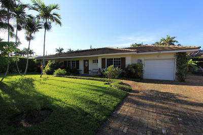Palm Beach Single Family Home Contingent: 244 Fairview Road