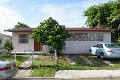 Miami Single Family Home Contingent: 2120 NW 1st Street