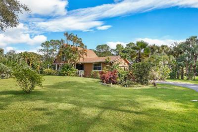 Jupiter Single Family Home For Sale: 11418 152nd Street