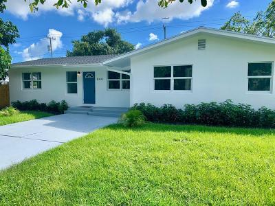 West Palm Beach Single Family Home For Sale: 844 Avon Road