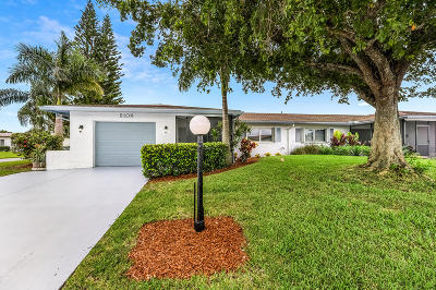 Delray Beach Single Family Home For Sale: 6108 Overland Place