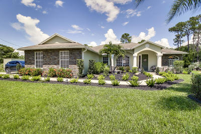 Loxahatchee Single Family Home Contingent: 16857 73rd Court