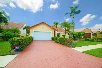 Boca Raton FL Single Family Home For Sale: $483,900