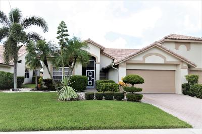 Boynton Beach Single Family Home For Sale: 7195 Ashford Lane