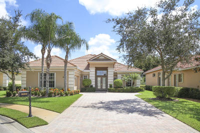 Port Saint Lucie Single Family Home For Sale: 8604 Tompson Point Road
