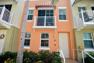 Lantana Townhouse For Sale: 126 Moorings Drive