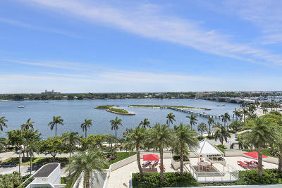 West Palm Beach Condo For Sale: 525 S Flagler Drive #9b