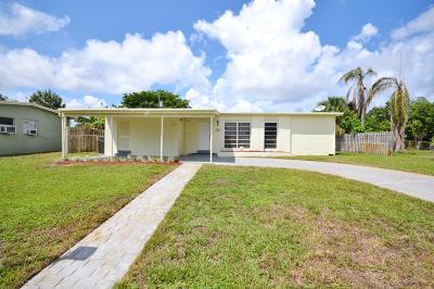 Lantana Single Family Home For Sale: 1415 W Broome Street