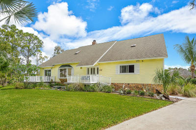 Lake Worth Single Family Home For Sale: 5212 Homeland Road
