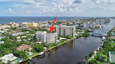 Delray Beach Condo For Sale: 1000 Lowry Street #1a