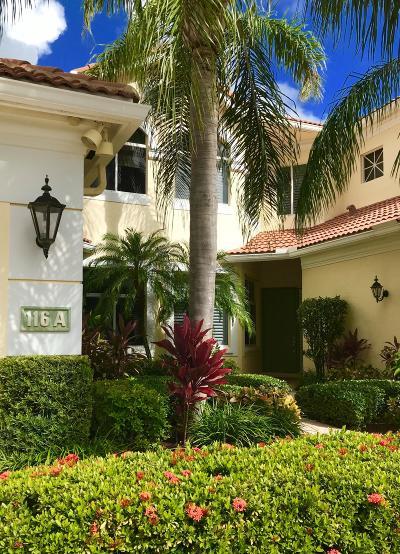 Palm Beach Gardens Condo For Sale: 116 Palm Bay Drive #A