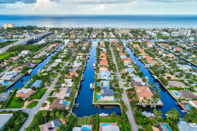 Delray Beach Single Family Home For Sale: 917 Tropic Boulevard