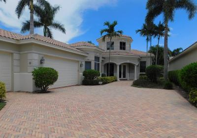 Boynton Beach Single Family Home For Sale: 46 Island Drive
