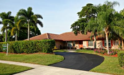 Boca Raton Single Family Home For Sale: 21837 Reflection Lane