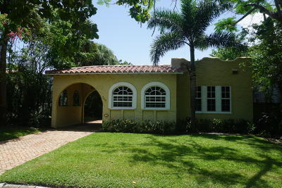 West Palm Beach Single Family Home For Sale: 740 Avon Road