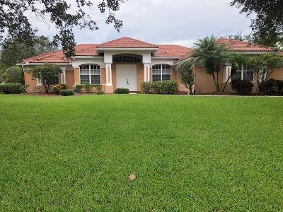 Palm City Single Family Home For Sale: 1322 SW Jasmine Trace