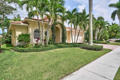 Palm Beach Gardens FL Single Family Home For Sale: $1,100,000