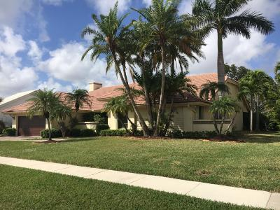 Boca Raton Single Family Home For Sale: 10916 Boca Woods Lane
