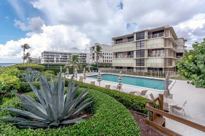 Palm Beach Condo For Sale: 3200 S Ocean Boulevard #D503